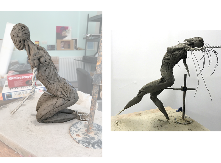 CLAYING UP - RA SCULPTURE